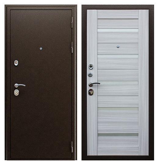 Дверь входная три контура СП156