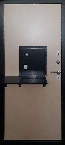 Однопольная техническая дверь в кассу СП606